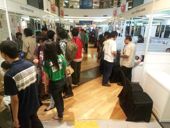 Exhibition area di fX.
